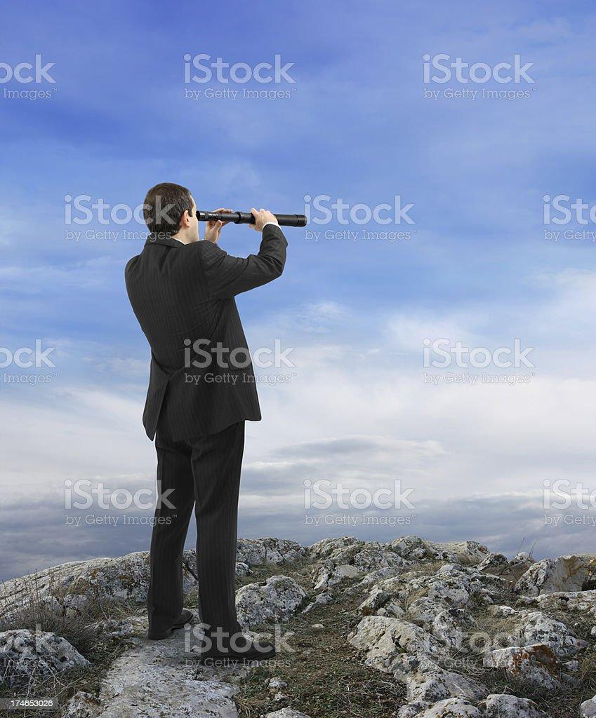 Business Explorer royalty-free stock photo