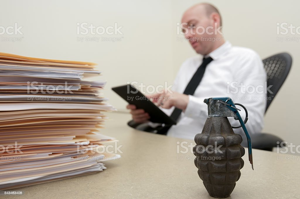 Business Explosion Concept stock photo