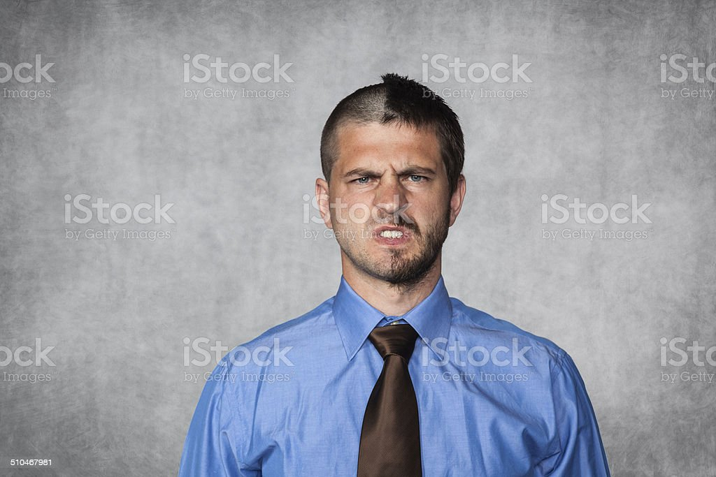 business face stock photo