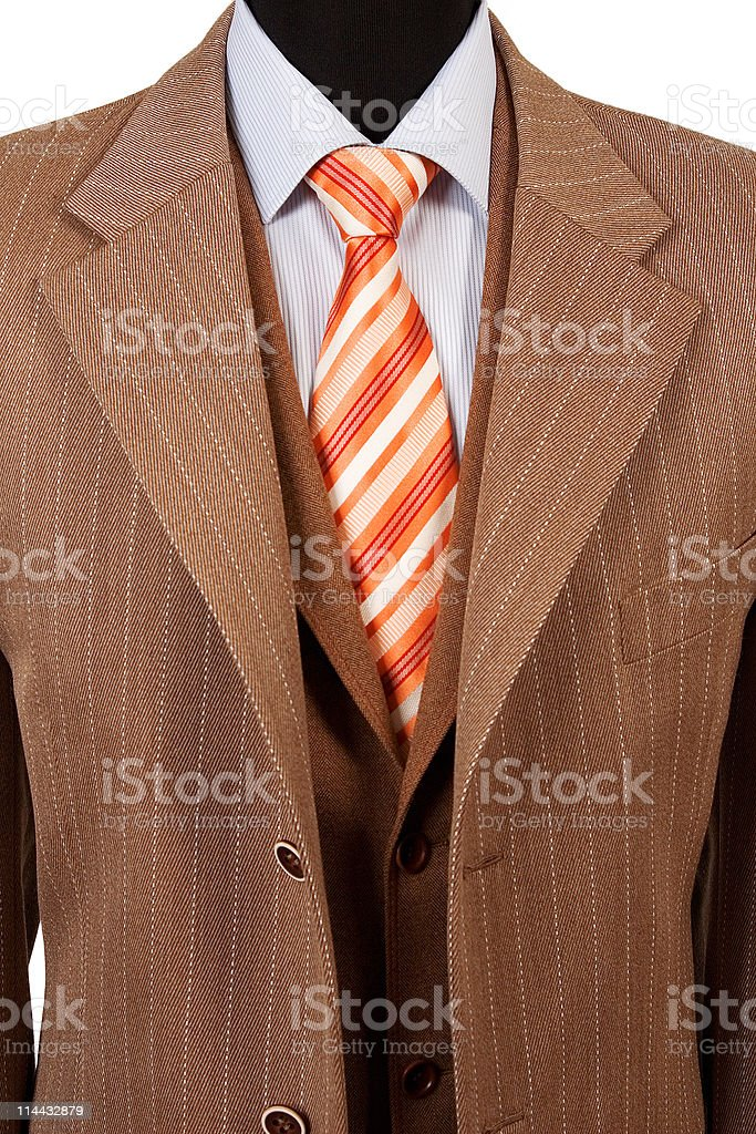 business fashion, elegant suit royalty-free stock photo