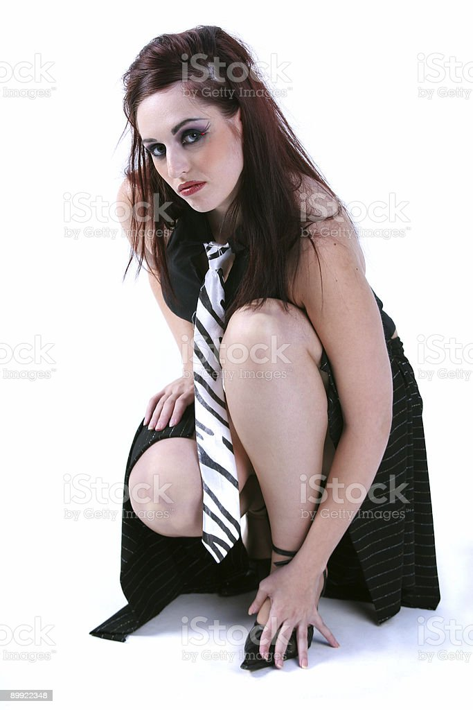 Business fashion female royalty-free stock photo