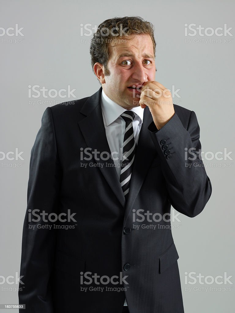 Business Fear royalty-free stock photo
