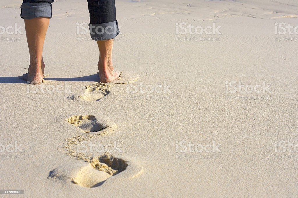 Business Feet royalty-free stock photo