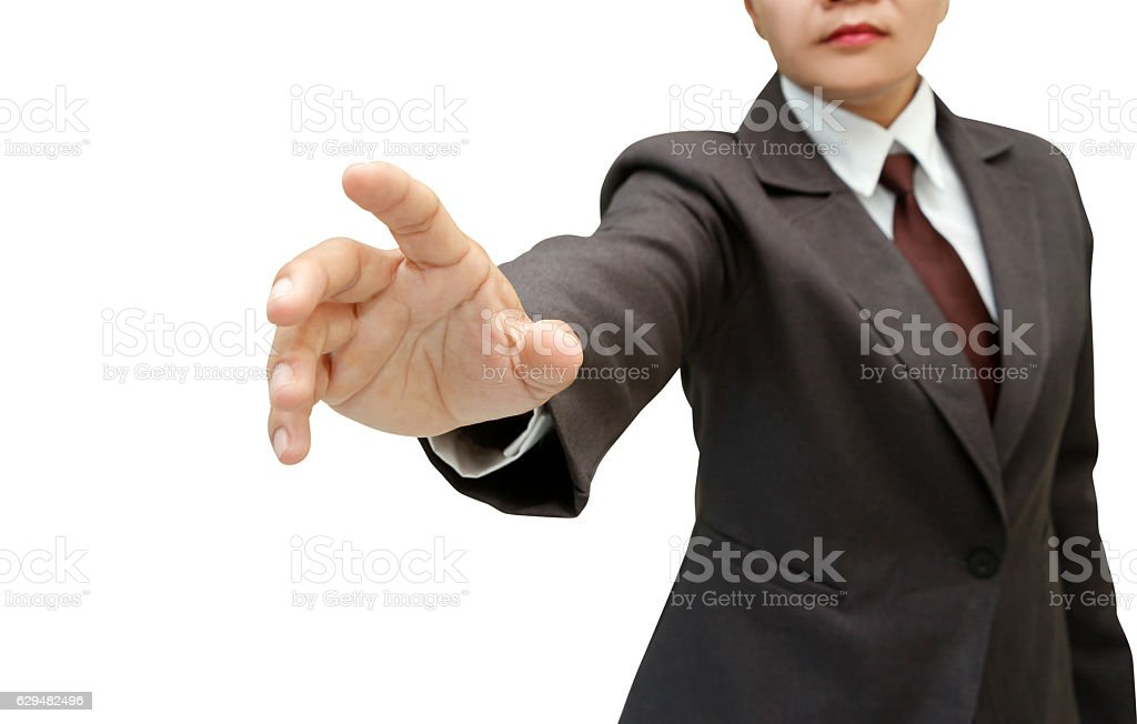 business female hand . stock photo