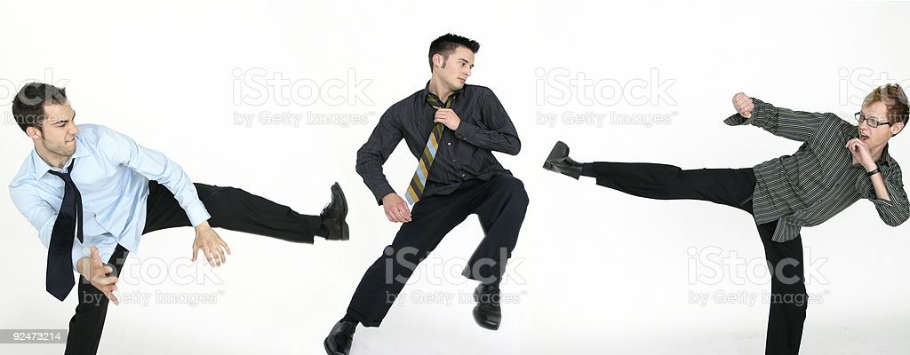Business Fight royalty-free stock photo