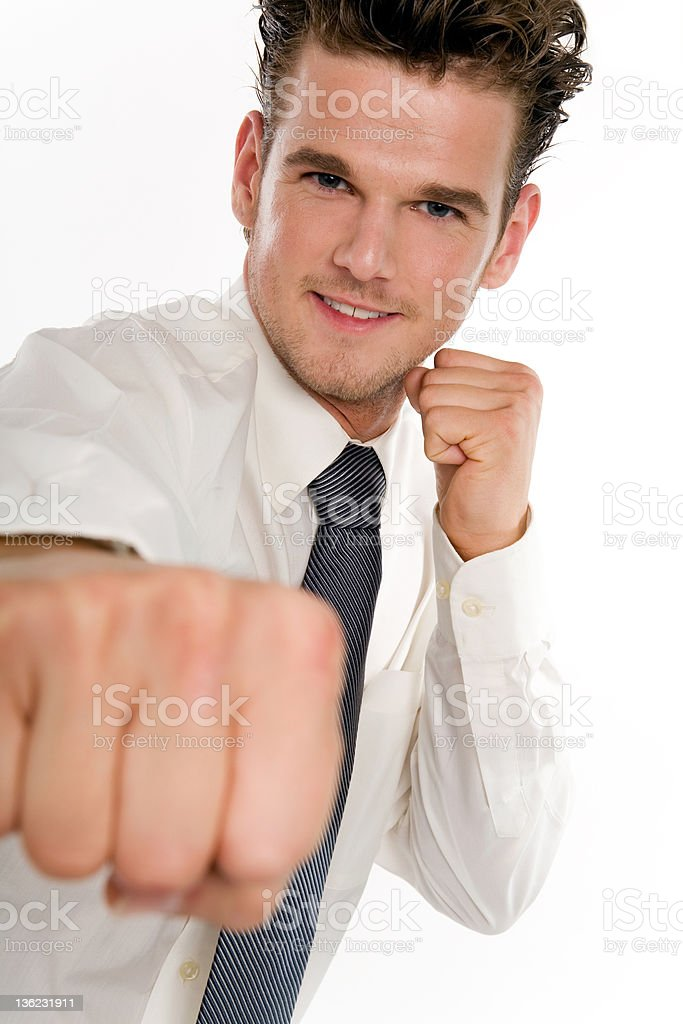Business Fighter royalty-free stock photo