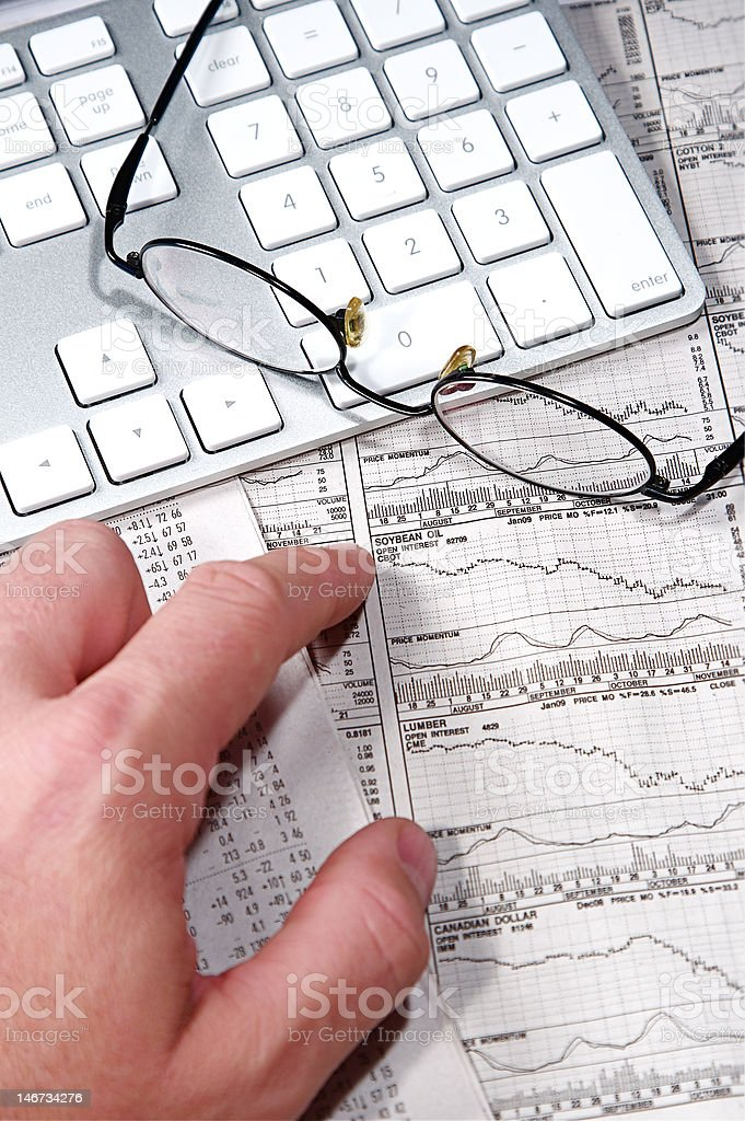 Business Finance royalty-free stock photo