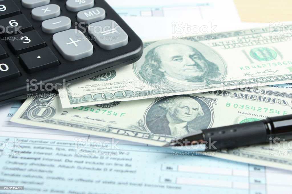 Business financial concept stock photo