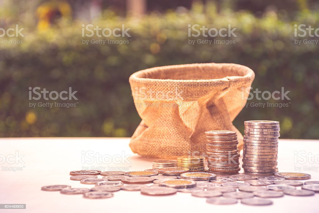 Business financial money saving concept royalty-free stock photo