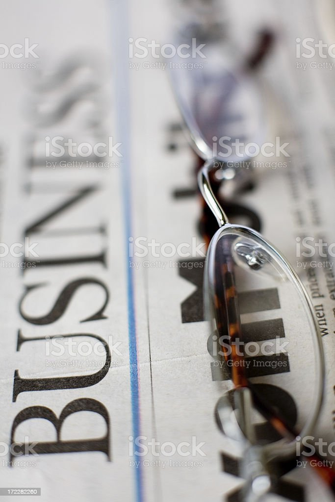 Business Focus royalty-free stock photo