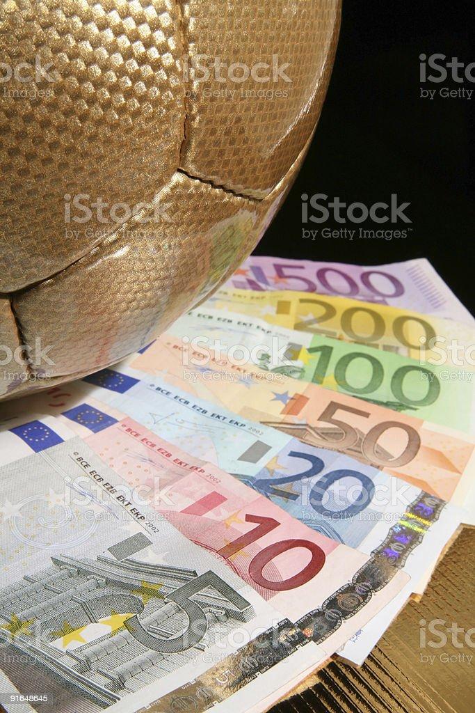 Business football stock photo
