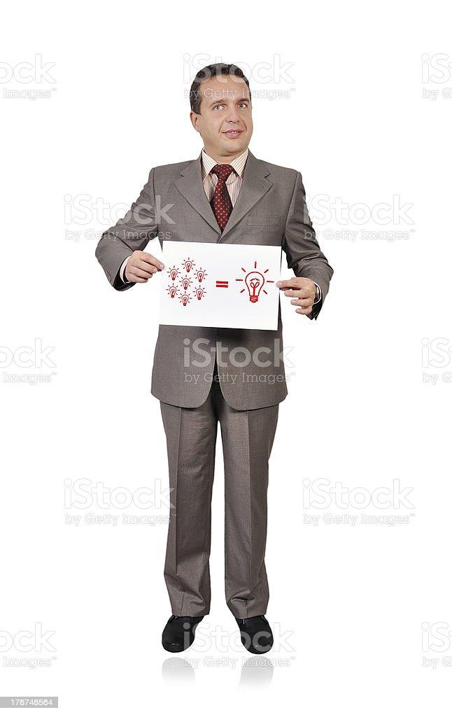business formula royalty-free stock photo