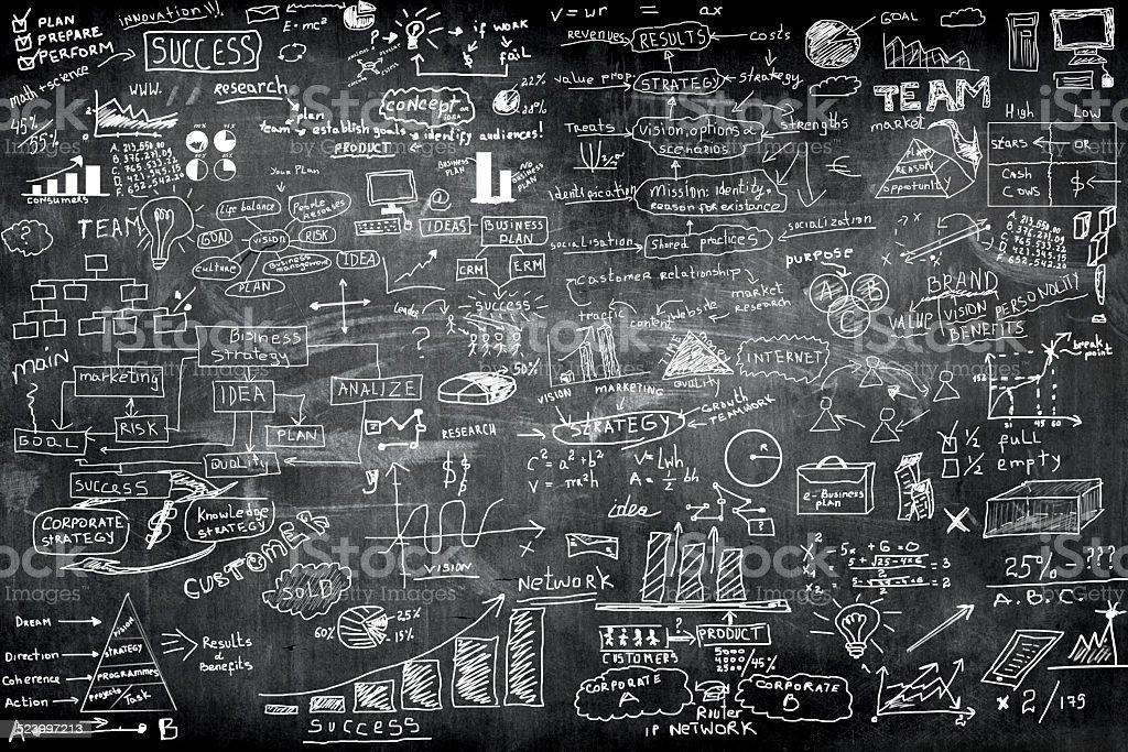 business formula stock photo