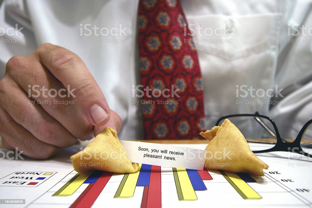 Business fortune stock photo