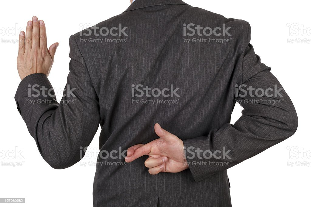 Business fraud stock photo