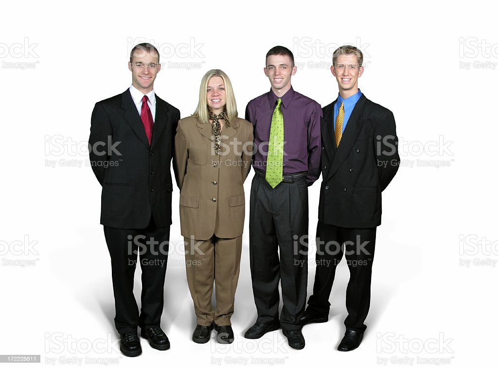Business Friends royalty-free stock photo