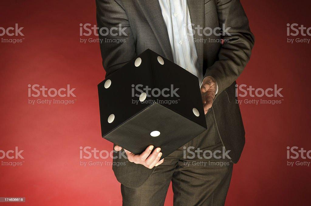 business gamble stock photo