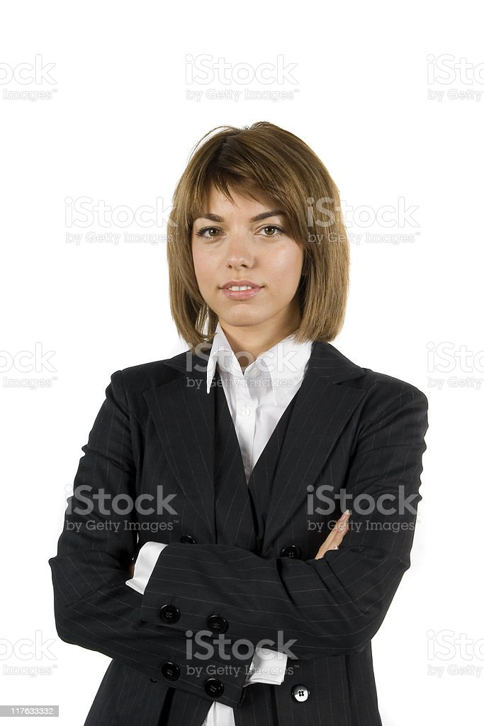 Business girl royalty-free stock photo