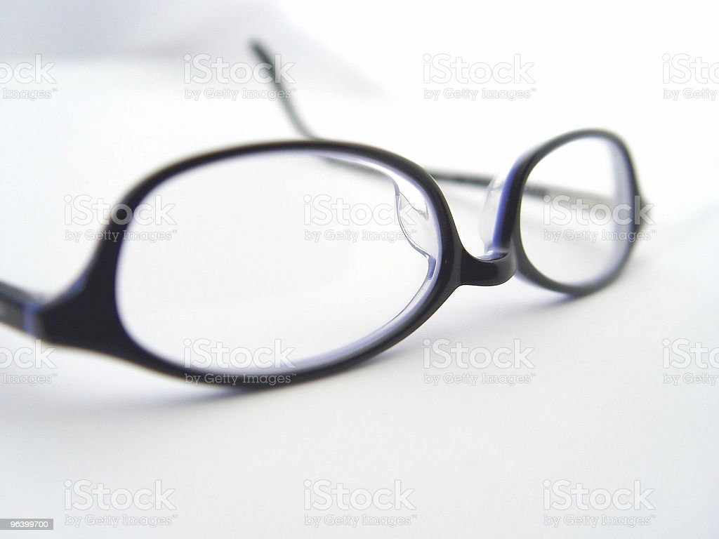 Business Glasses royalty-free stock photo