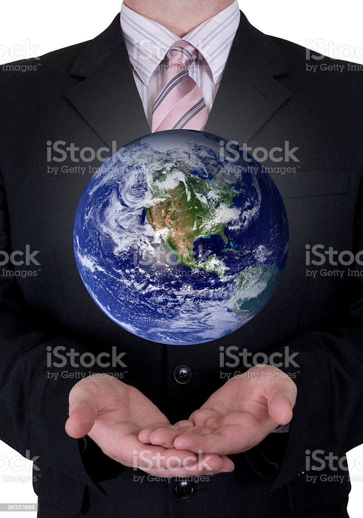 Business Globe stock photo