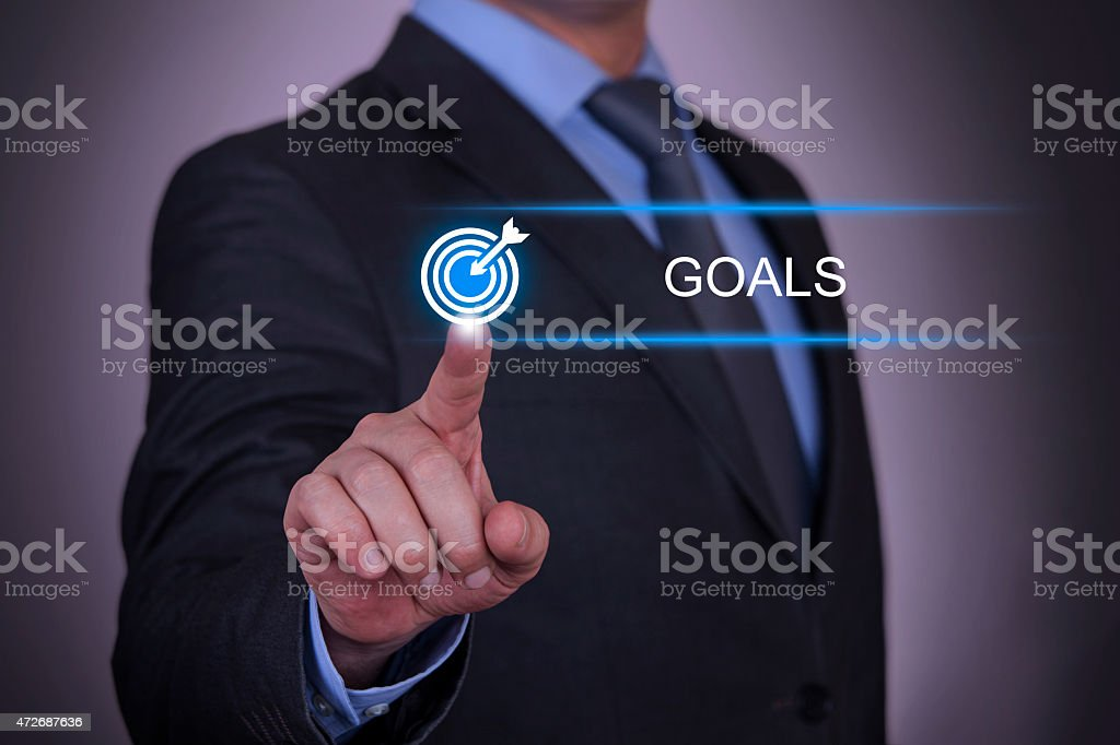 Business Goals Concept stock photo