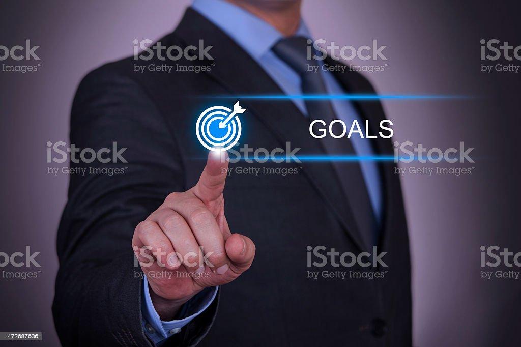 Business Goals Concept stock photo
