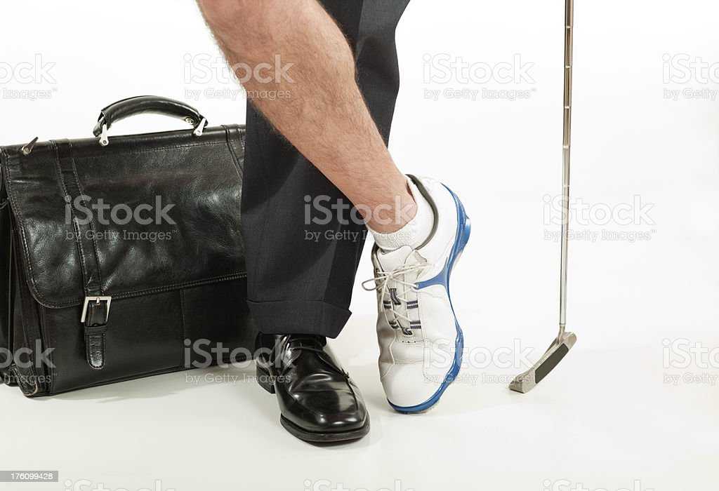 Business Golf royalty-free stock photo