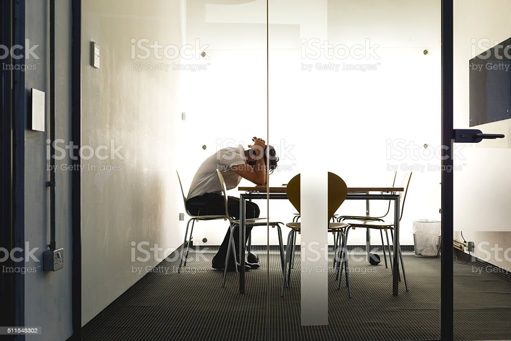 Business Gone Bad! stock photo