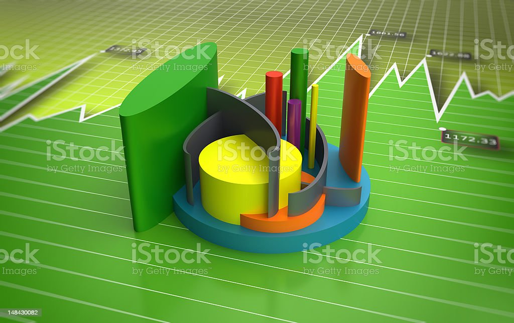 Business Graph Chart stock photo
