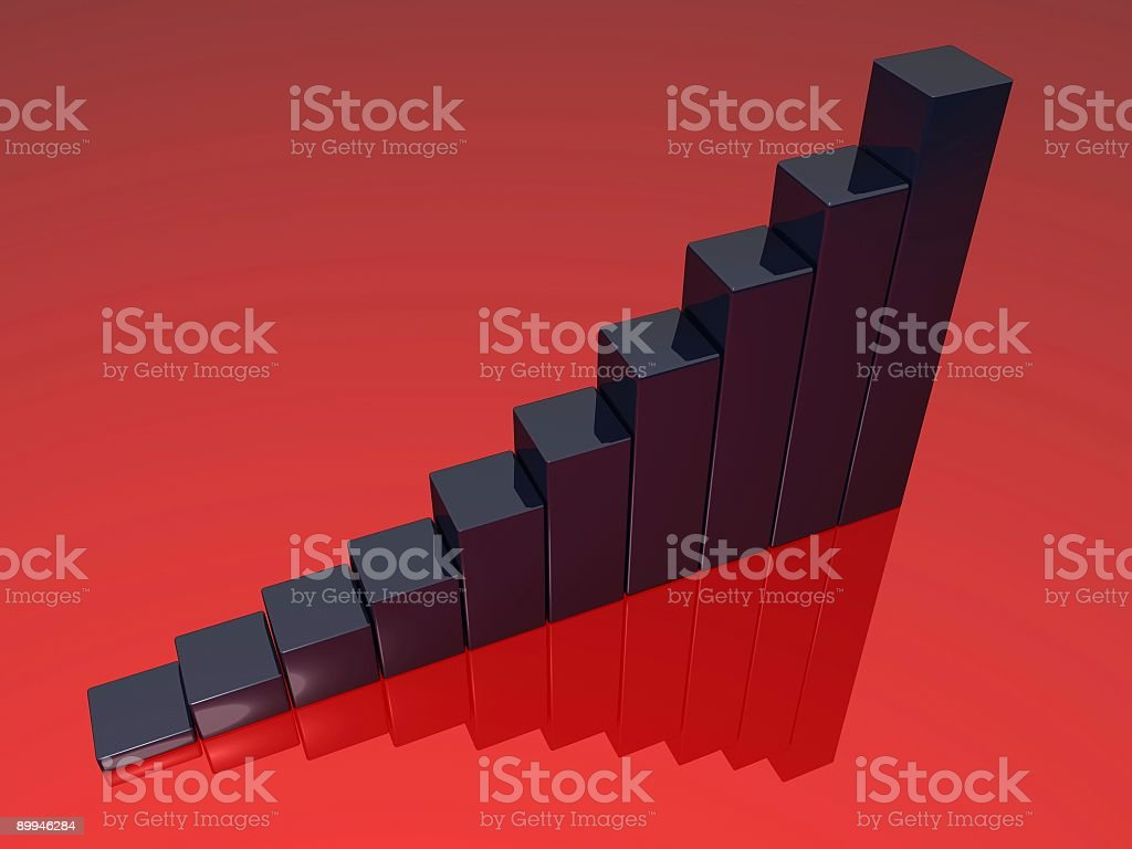Business Graph Chart stock photo
