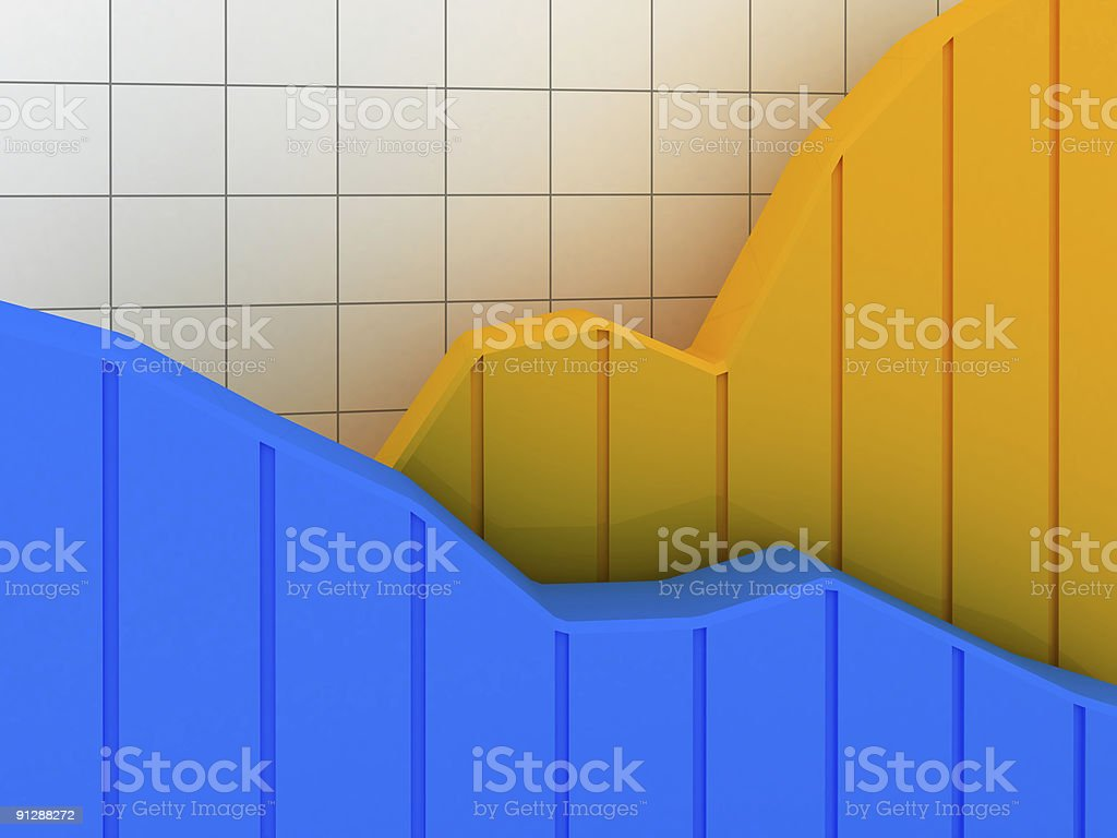 Business Graph v20 royalty-free stock photo