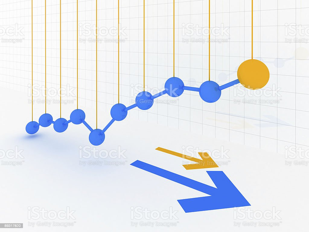 Business Graph v22 royalty-free stock photo