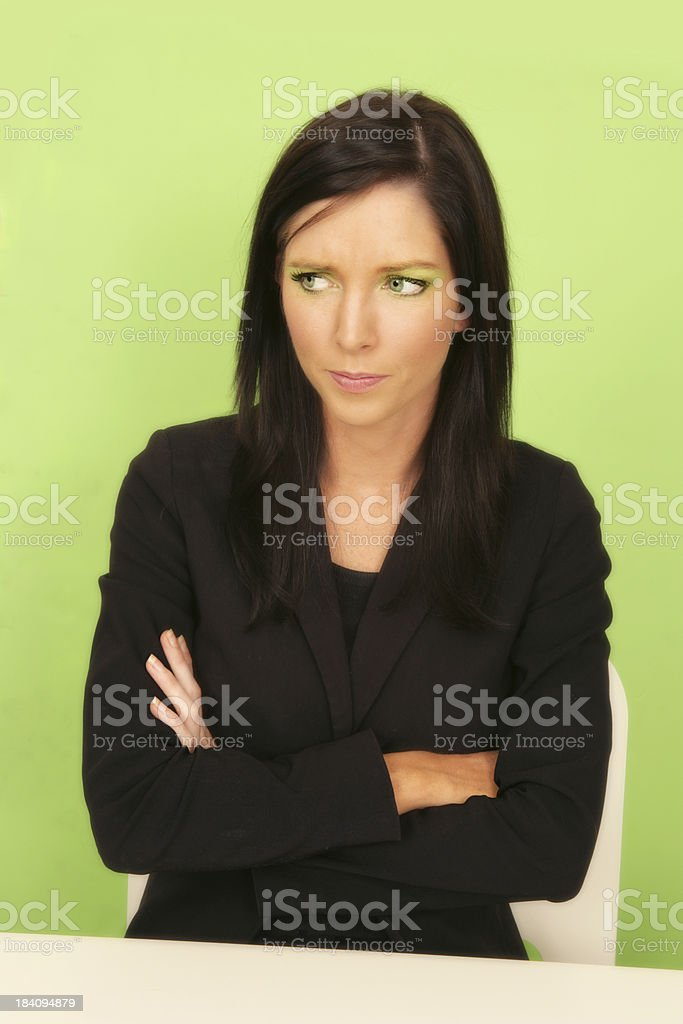 Business Gripe royalty-free stock photo