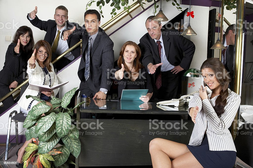 Business group stock photo