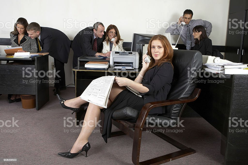 Business group royalty-free stock photo