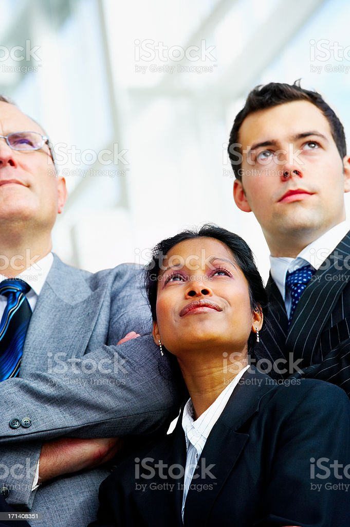 Business group portrait stock photo