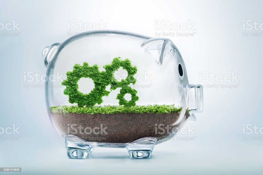 Business growth stock photo
