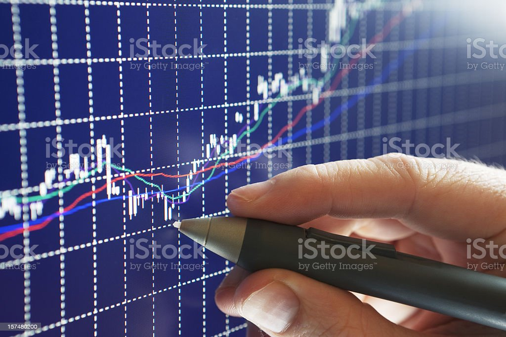 Business Growth Turning Point royalty-free stock photo