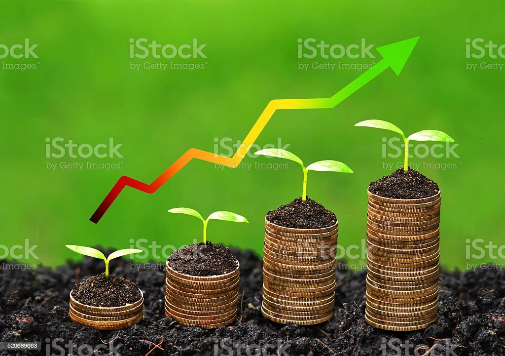 business growth with csr stock photo
