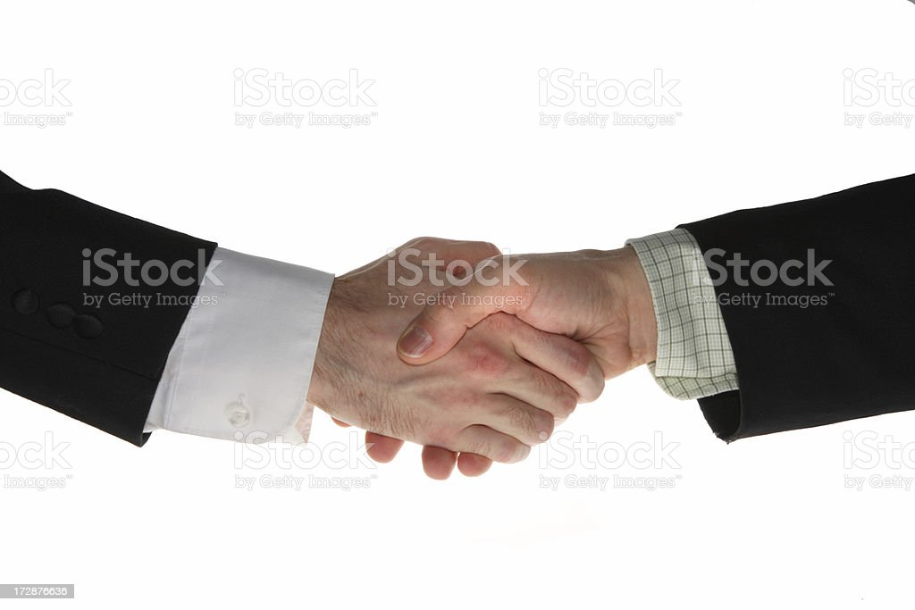 Business Hand Shake royalty-free stock photo