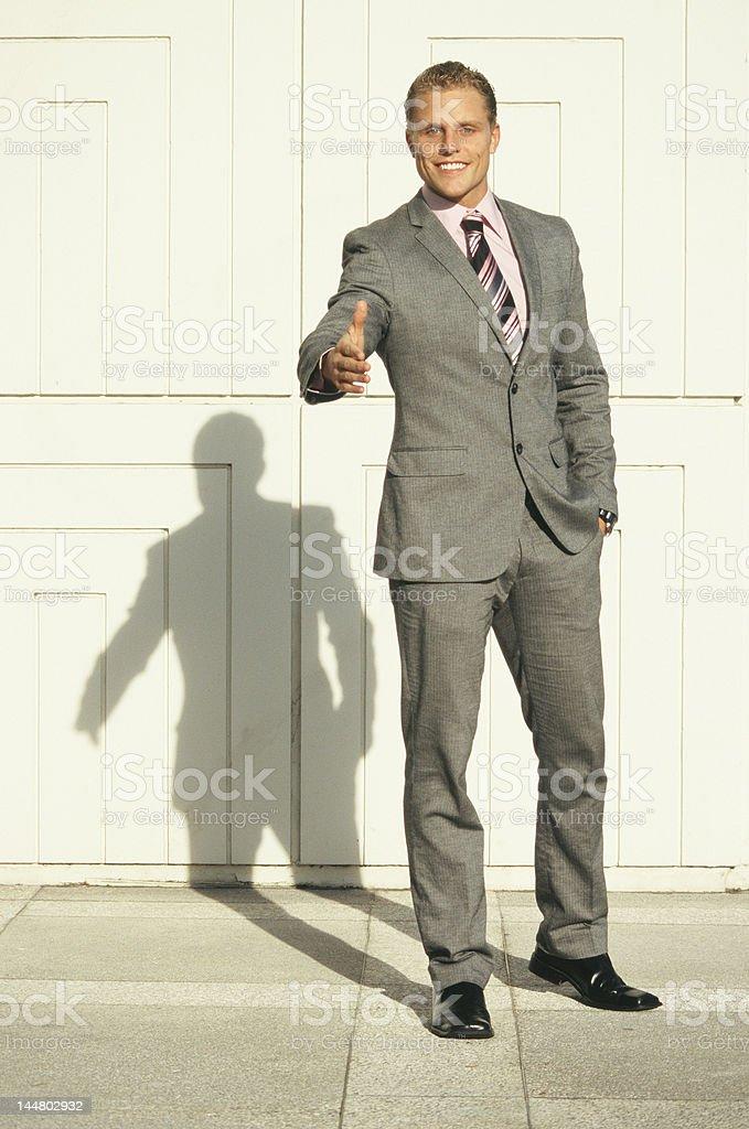 Poignée de main affaires photo libre de droits