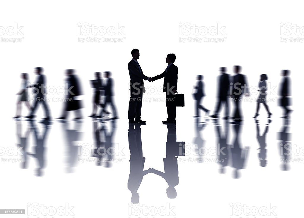 Business Handshake. royalty-free stock photo