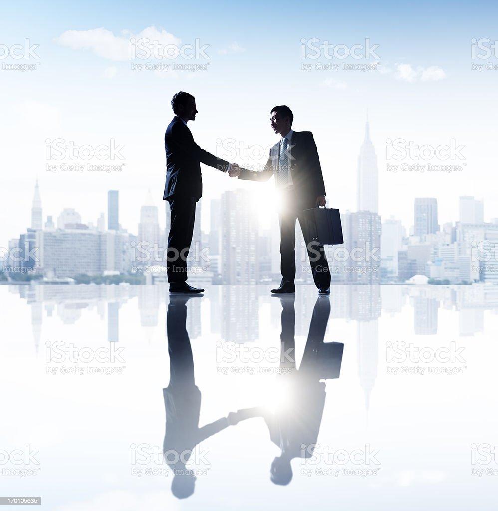 Business Handshake. royalty-free stock photo