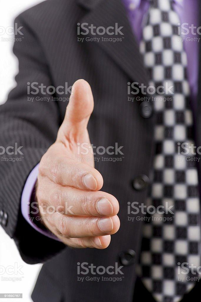 Бизнес Рукопожатие Стоковые фото Стоковая фотография