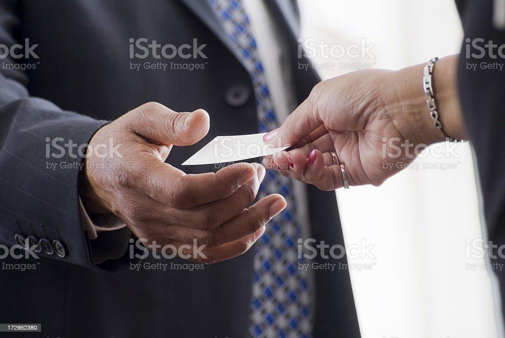 Business Handshake Series stock photo