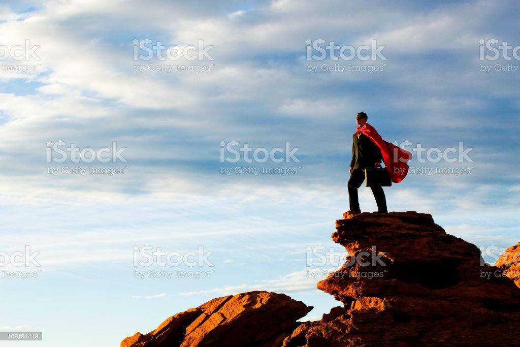 Business Hero stock photo