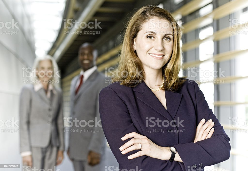 Business Heroes royalty-free stock photo