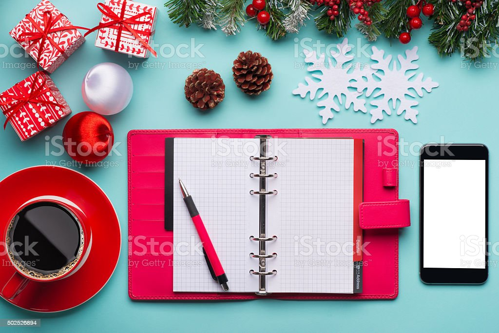Business holidays concept stock photo