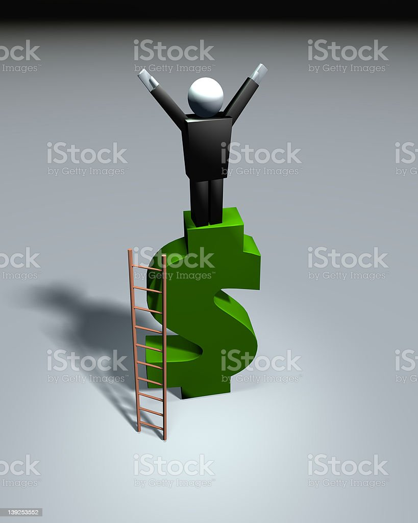 Business Icons - Financial Success royalty-free stock photo