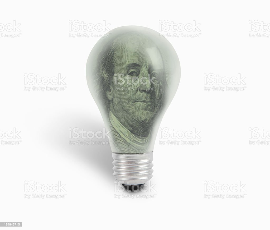 Business idea + Outline Paths royalty-free stock photo